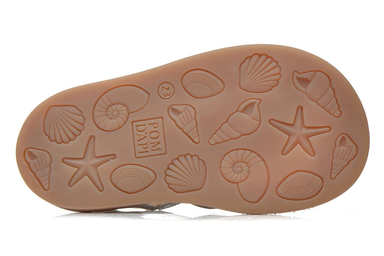 Sandaler Pom d Api POPPY BUCKLE Sølv se foroven