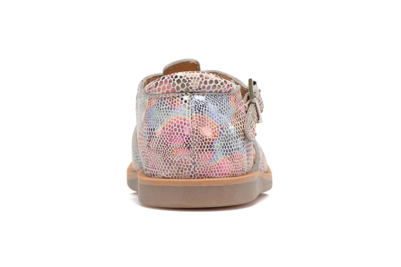 Sandals Pom d Api POPPY BUCKLE Multicolor view from the right