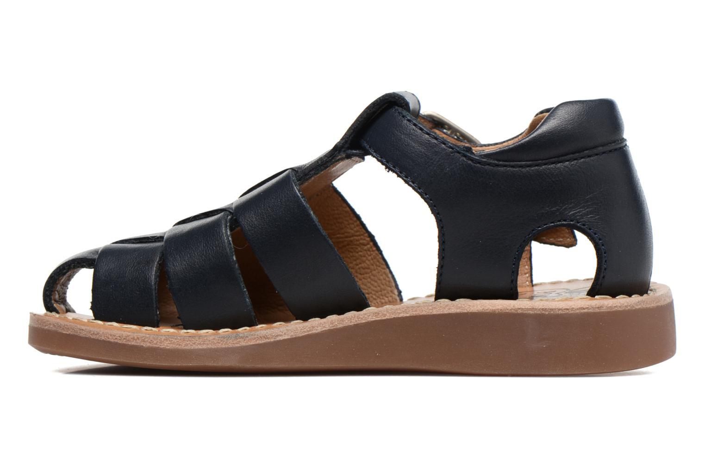 Sandales et nu-pieds Pom d Api Yapo Papy Buckle Bleu vue face