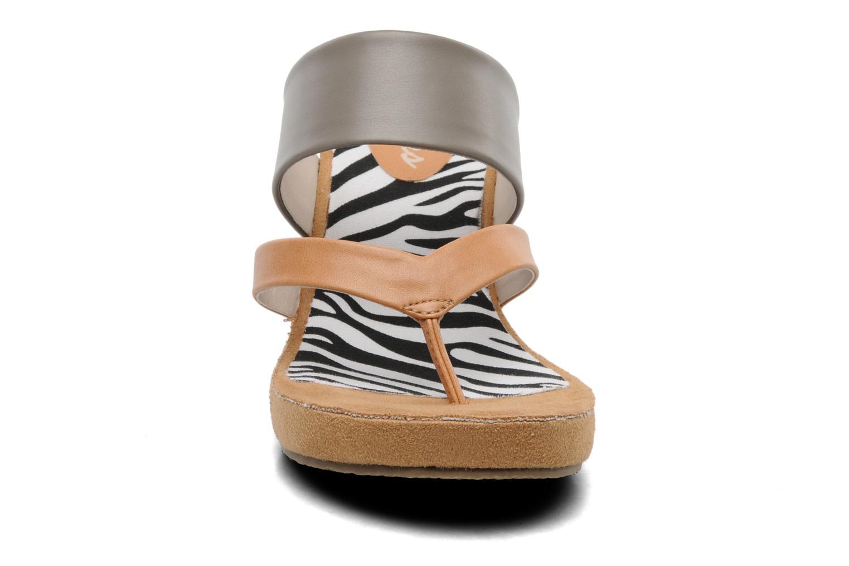 Clogs & Pantoletten Skechers Modiste 38332 grau schuhe getragen