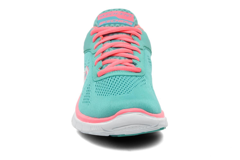 Chaussures de sport Skechers Flex Appeallove Your Style 11728 Bleu vue portées chaussures