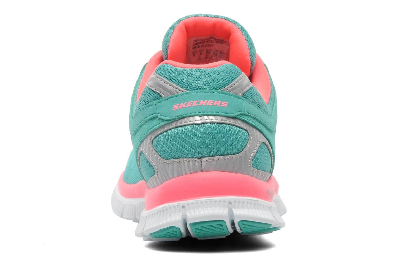 Chaussures de sport Skechers Flex Appeallove Your Style 11728 Bleu vue droite