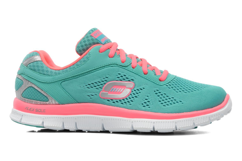 Chaussures de sport Skechers Flex Appeallove Your Style 11728 Bleu vue derrière