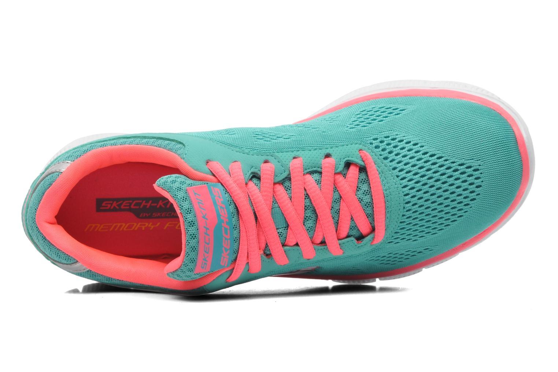 Chaussures de sport Skechers Flex Appeallove Your Style 11728 Bleu vue gauche