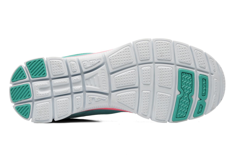 Chaussures de sport Skechers Flex Appeallove Your Style 11728 Bleu vue haut