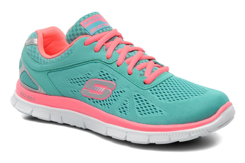 Chaussures de sport Skechers Flex Appeallove Your Style 11728 Bleu vue détail/paire