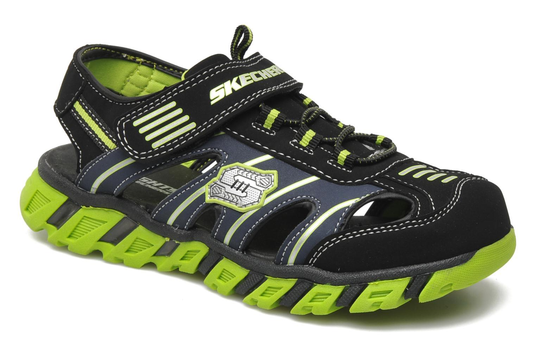 Sandales et nu-pieds Skechers Pillar Sandal Noir vue détail/paire