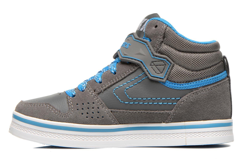 Sneaker Skechers Kelp Assemble grau ansicht von vorne