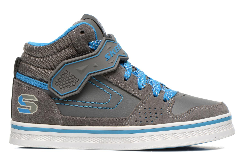Sneaker Skechers Kelp Assemble grau ansicht von hinten