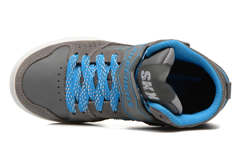 Sneaker Skechers Kelp Assemble grau ansicht von links