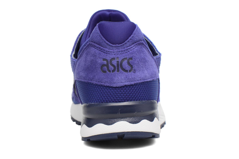 Sneaker Asics Gel-Lyte V blau ansicht von rechts