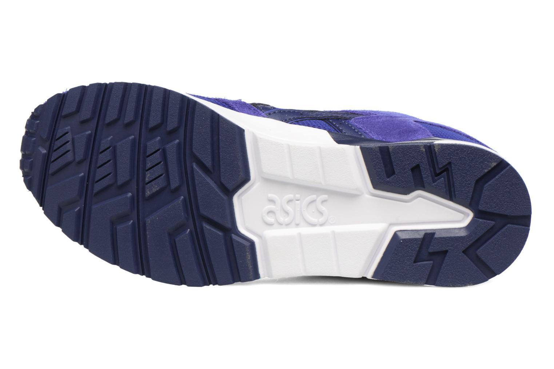 Baskets Asics Gel-Lyte V Bleu vue haut