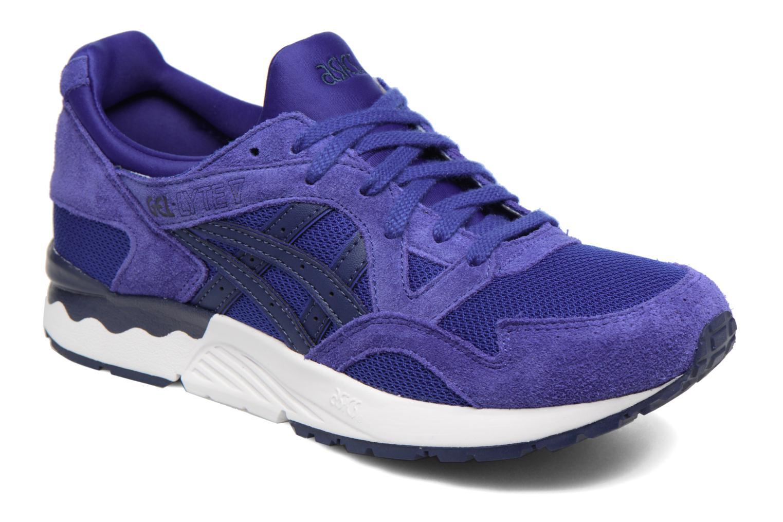 Sneakers Asics Gel-Lyte V Blauw detail