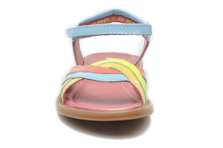 Sandales et nu-pieds Mod8 JALUME Bleu vue portées chaussures