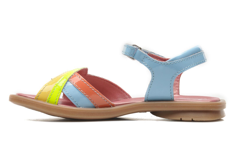 Sandales et nu-pieds Mod8 JALUME Bleu vue face