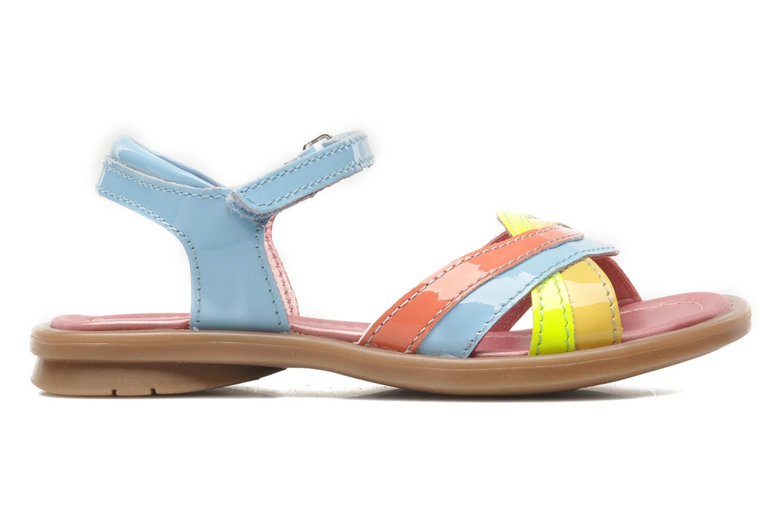 Sandales et nu-pieds Mod8 JALUME Bleu vue derrière