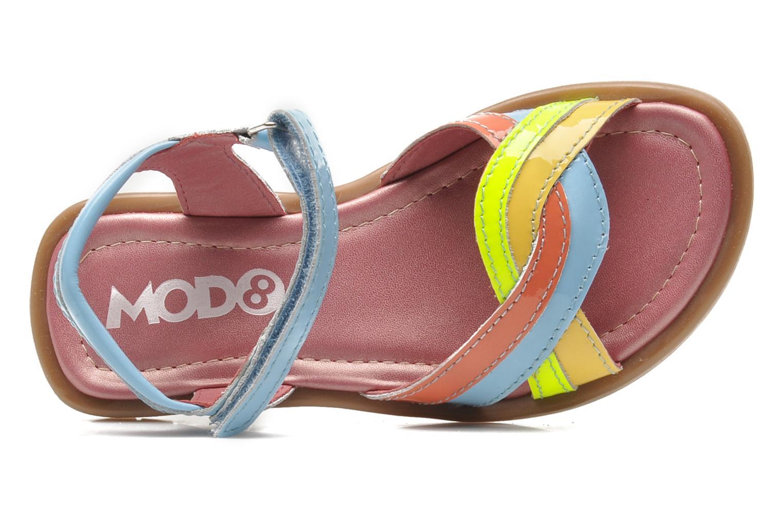 Sandales et nu-pieds Mod8 JALUME Bleu vue gauche