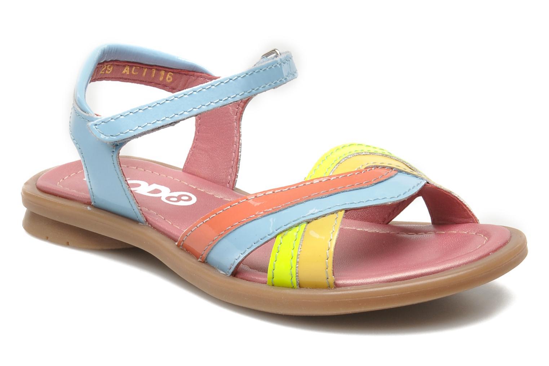 Sandales et nu-pieds Mod8 JALUME Bleu vue détail/paire