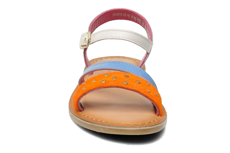 Sandalen Mod8 ZIPOINTE mehrfarbig schuhe getragen