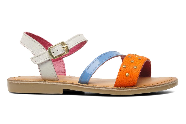 Sandalen Mod8 ZIPOINTE mehrfarbig ansicht von hinten