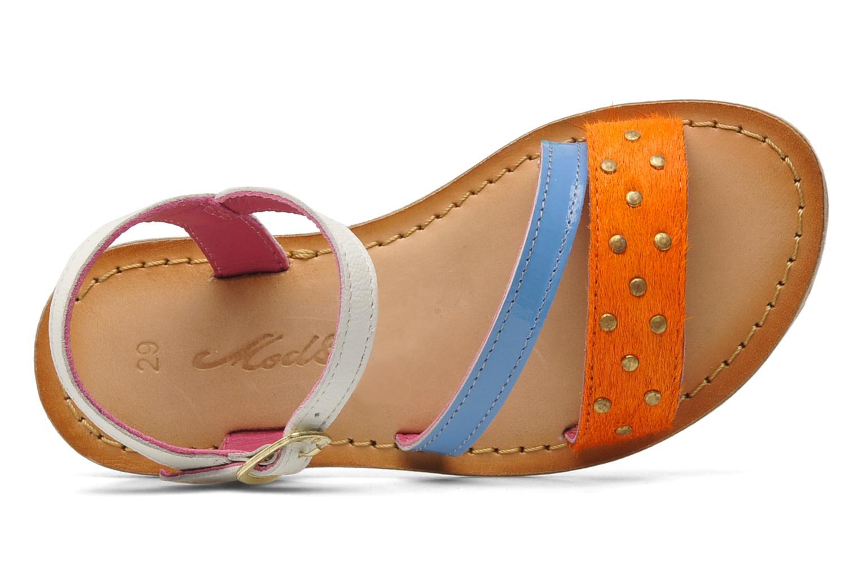 Sandalen Mod8 ZIPOINTE mehrfarbig ansicht von links