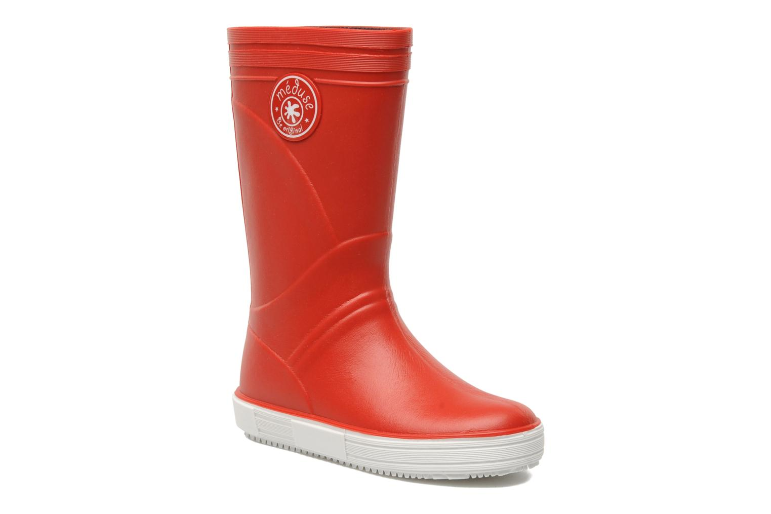 Boots & wellies Méduse SKIPPY Red detailed view/ Pair view