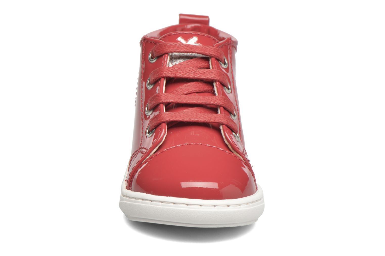 Stiefeletten & Boots Shoo Pom Bouba Pad Lace rot schuhe getragen
