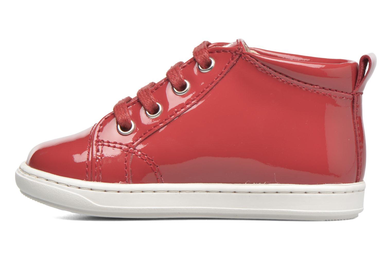 Stiefeletten & Boots Shoo Pom Bouba Pad Lace rot ansicht von vorne