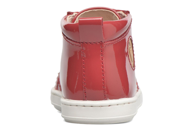 Stiefeletten & Boots Shoo Pom Bouba Pad Lace rot ansicht von rechts