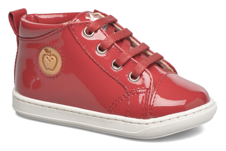 Stiefeletten & Boots Shoo Pom Bouba Pad Lace rot detaillierte ansicht/modell