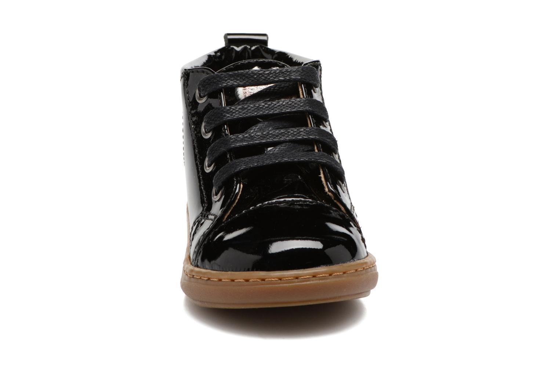 Bottines et boots Shoo Pom Bouba Pad Lace Noir vue portées chaussures