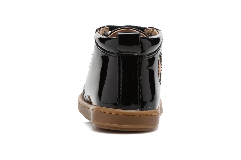 Bottines et boots Shoo Pom Bouba Pad Lace Noir vue droite