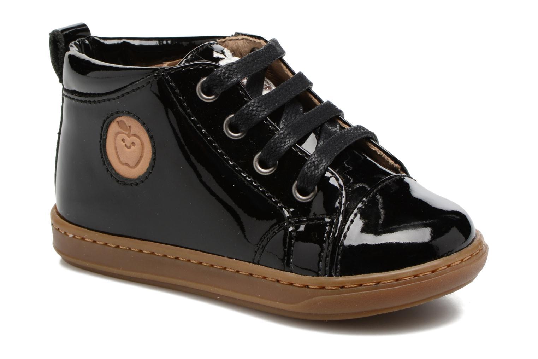 Bottines et boots Shoo Pom Bouba Pad Lace Noir vue détail/paire