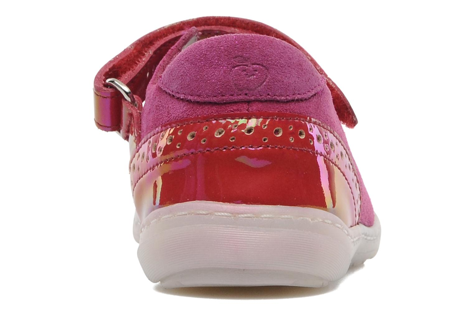 Ballet pumps Shoo Pom MINI MILA BABY KNOT Pink view from the right