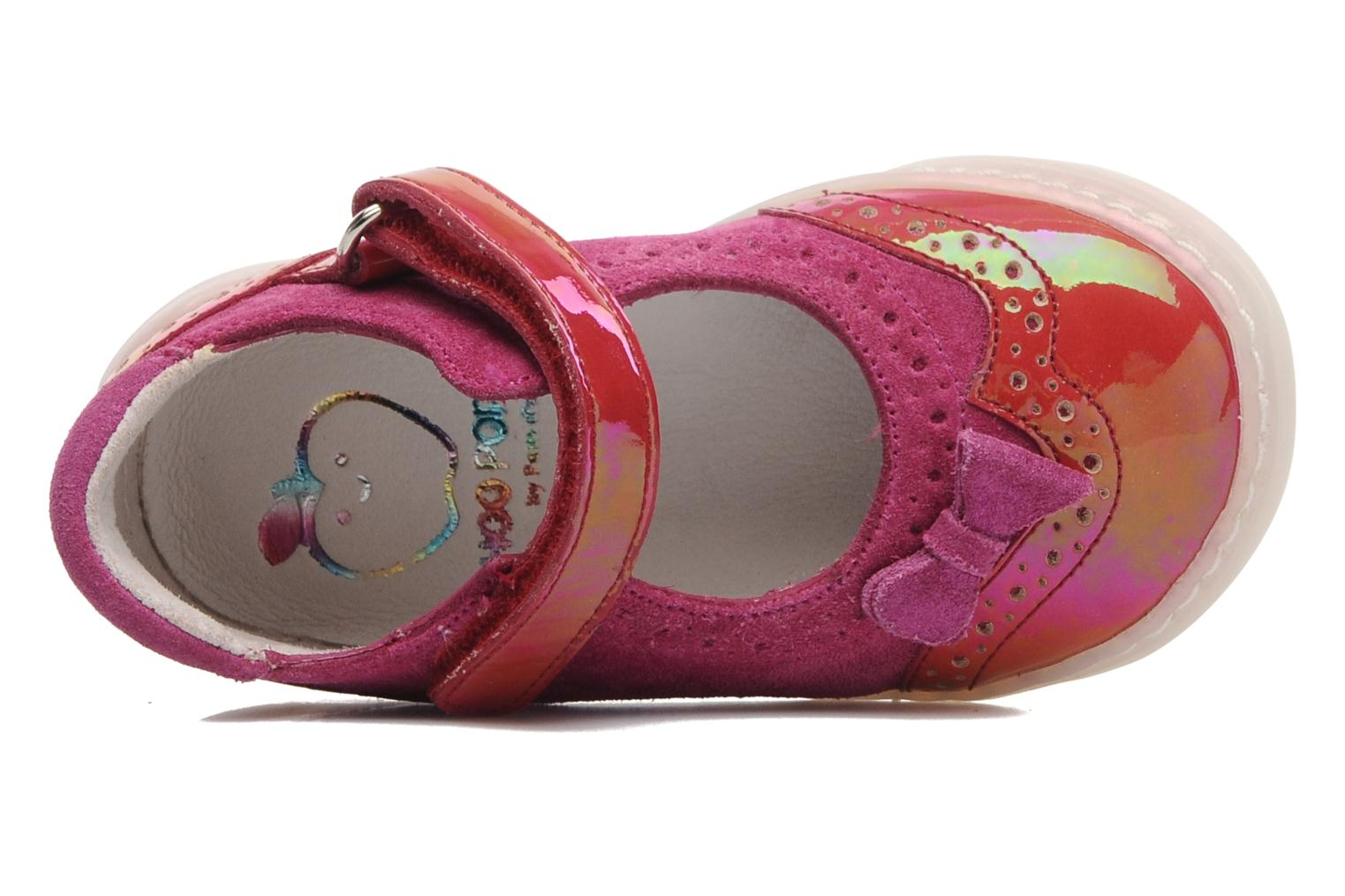Ballet pumps Shoo Pom MINI MILA BABY KNOT Pink view from the left