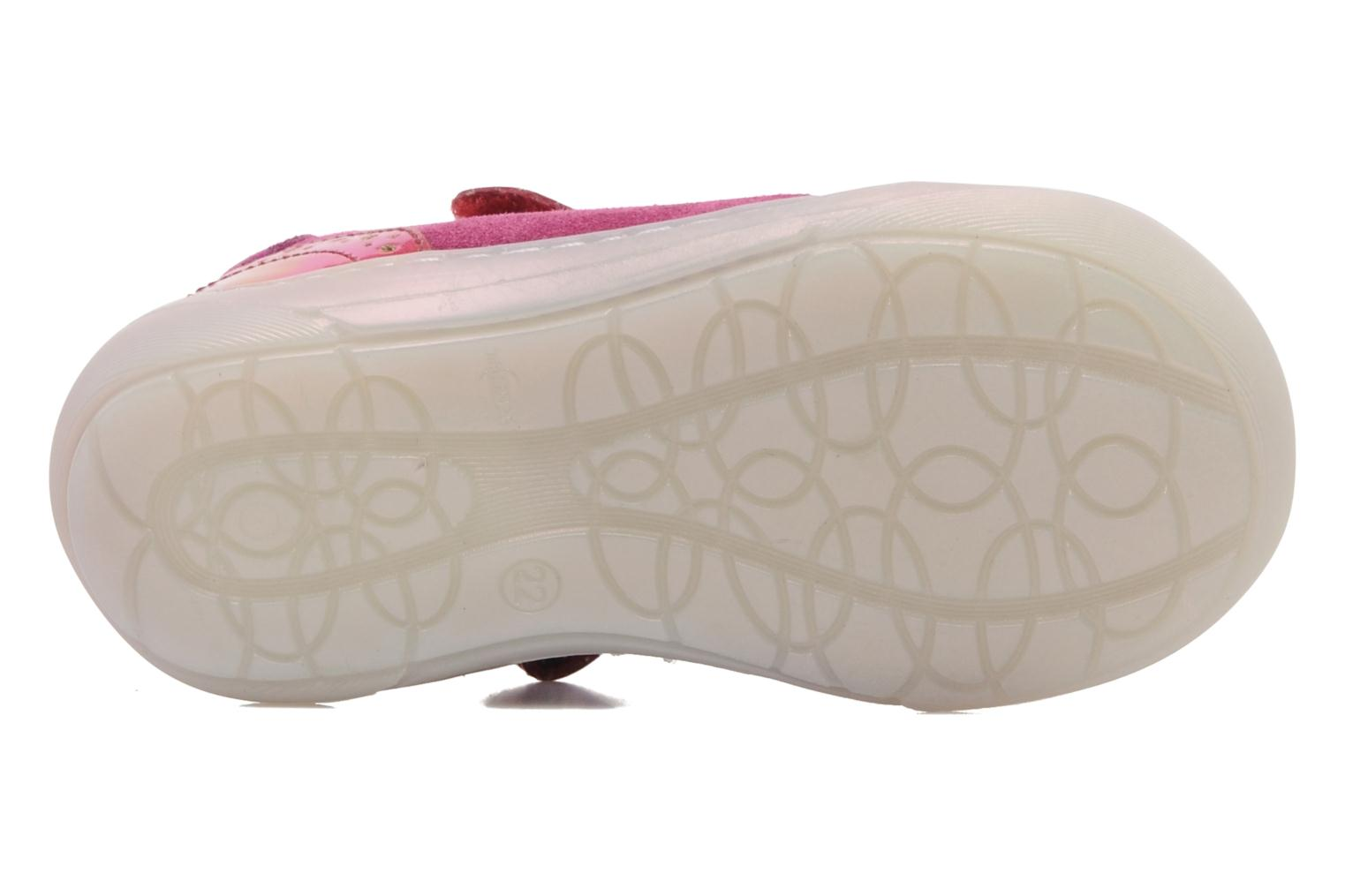 Ballet pumps Shoo Pom MINI MILA BABY KNOT Pink view from above
