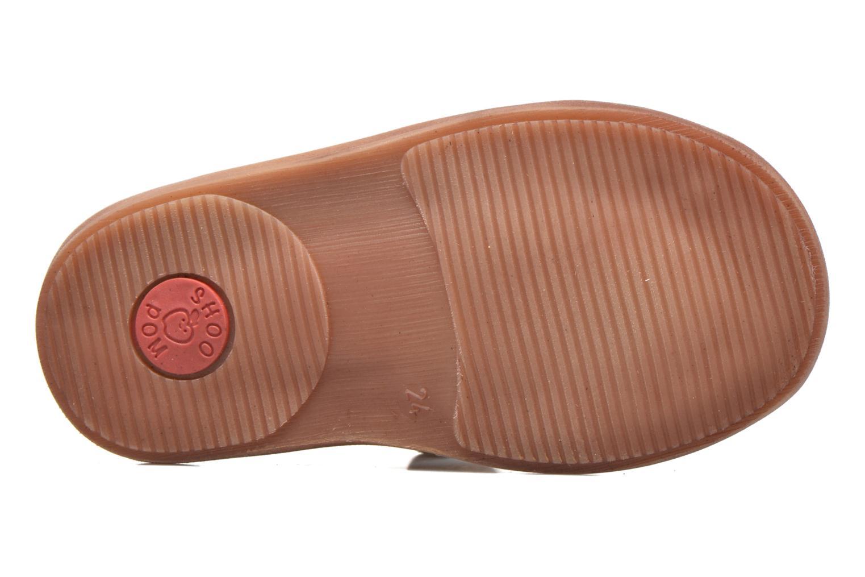 Sandales et nu-pieds Shoo Pom Crespin Tonton Marron vue haut