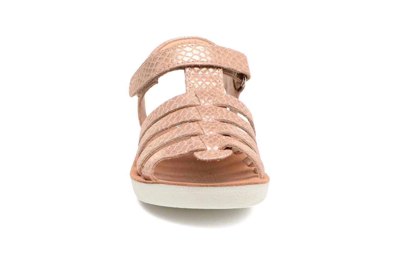 Sandales et nu-pieds Shoo Pom Goa Spart Marron vue portées chaussures