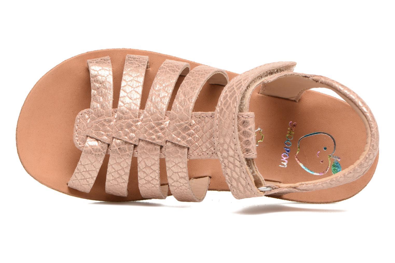 Sandales et nu-pieds Shoo Pom Goa Spart Marron vue gauche