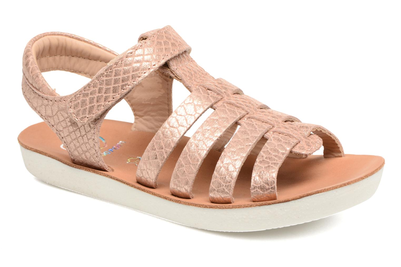 Sandales et nu-pieds Shoo Pom Goa Spart Marron vue détail/paire