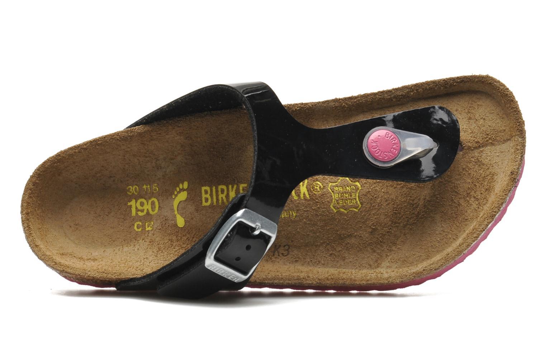 Flip flops & klipklapper Birkenstock Gizeh Birko-Flor Sort se fra venstre