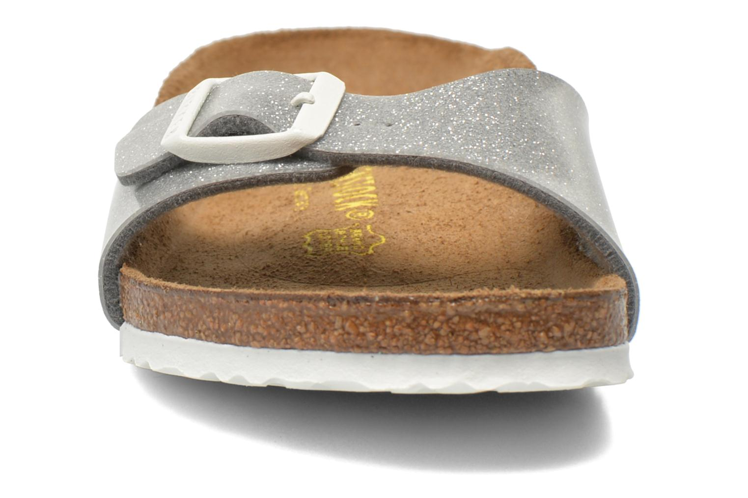 Sandals Birkenstock Madrid Birko Flor Silver model view