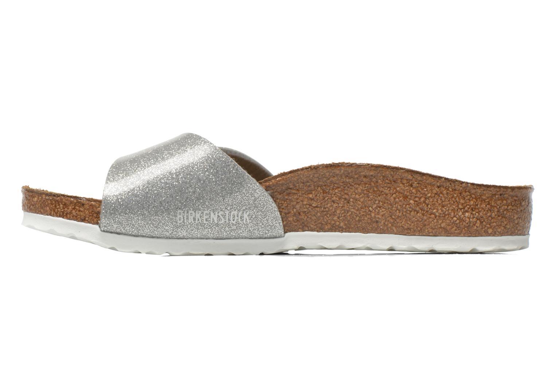 Sandali e scarpe aperte Birkenstock Madrid Birko Flor Argento immagine frontale
