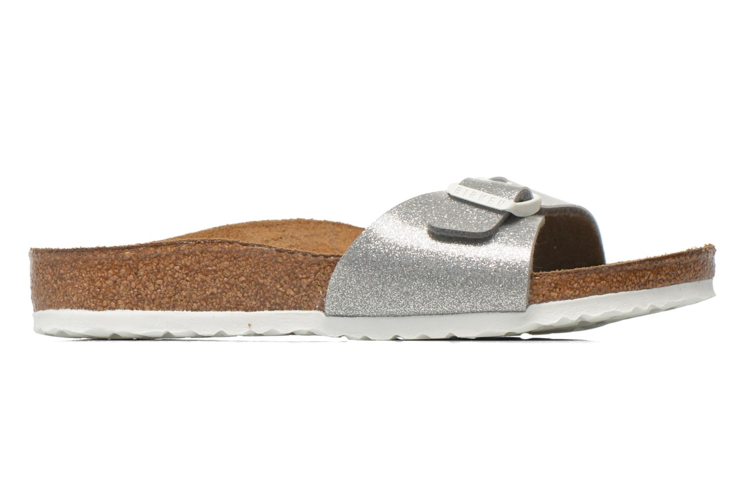 Sandals Birkenstock Madrid Birko Flor Silver back view