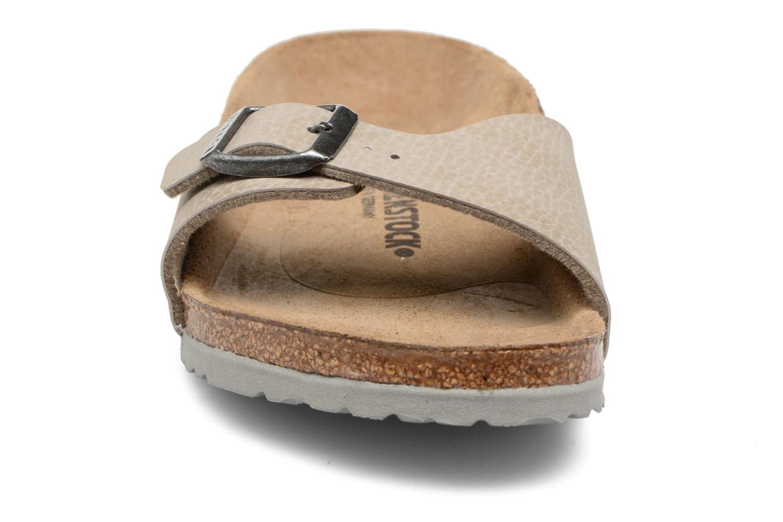 Sandaler Birkenstock Madrid Birko Flor Beige se skoene på