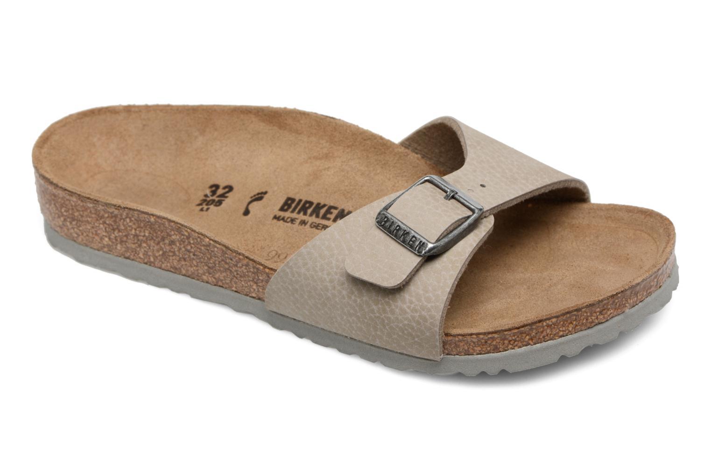 Sandaler Birkenstock Madrid Birko Flor Beige detaljeret billede af skoene