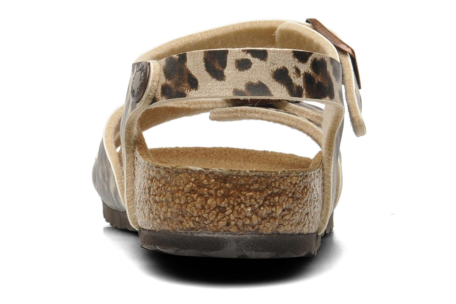 Sandals Birkenstock Rio Birko Flor Brown view from the right