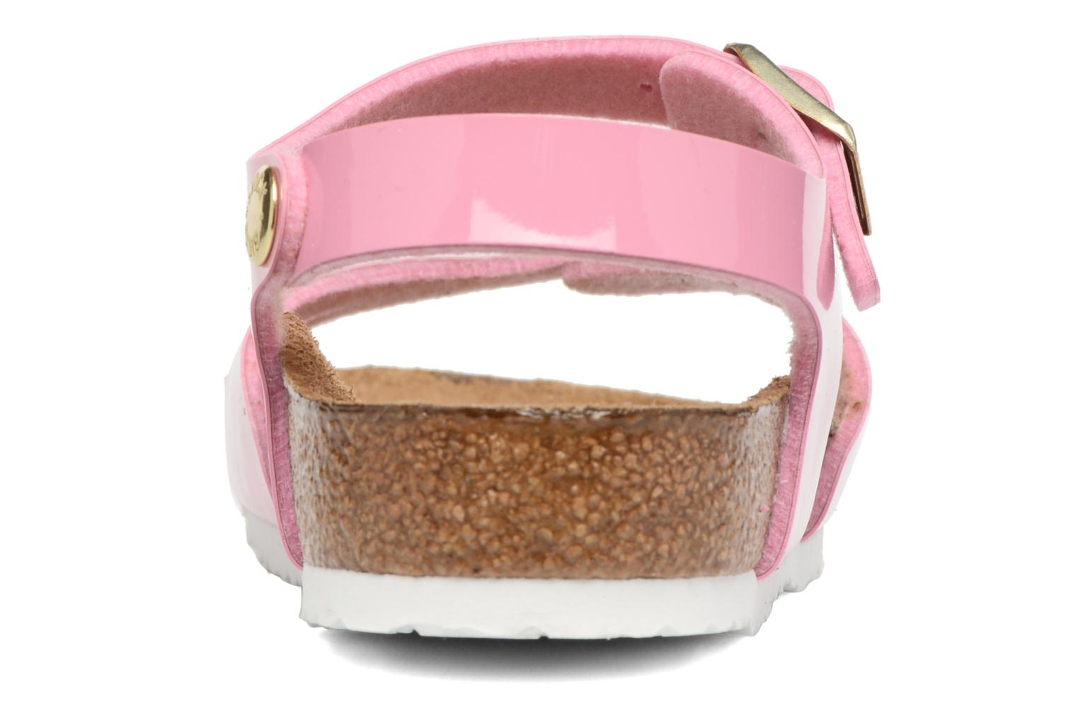 Sandals Birkenstock Rio Birko Flor Pink view from the right