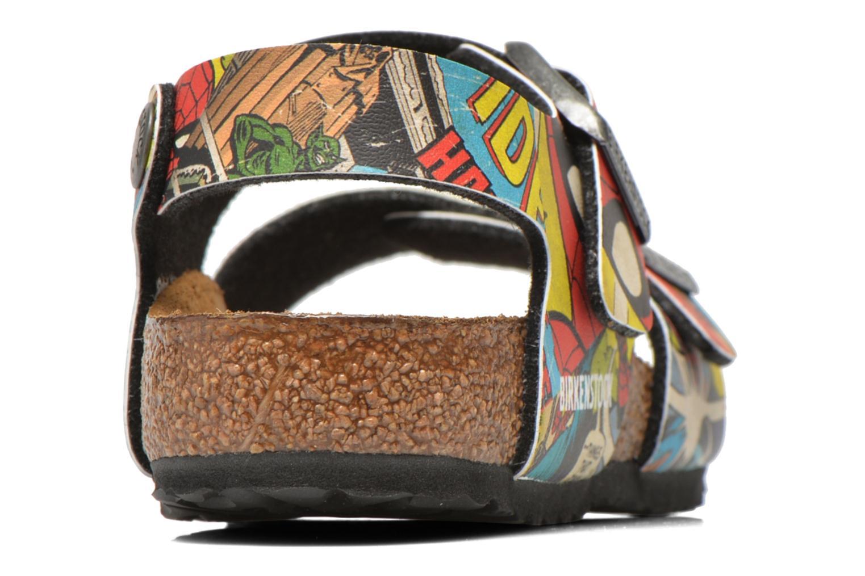 Sandales et nu-pieds Birkenstock New York Birko Flor Multicolore vue droite