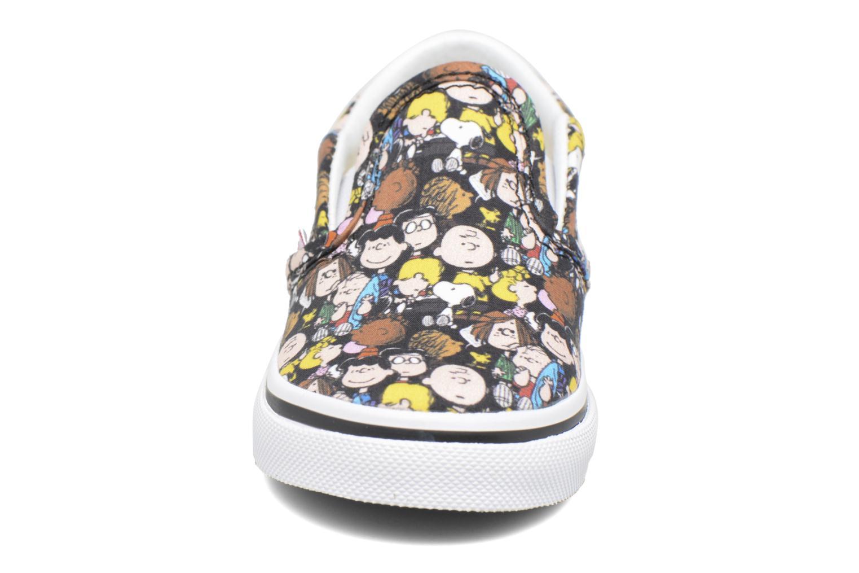 Baskets Vans Classic Slip-On E Multicolore vue portées chaussures